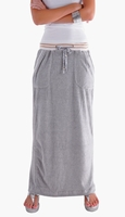 Comfy Gray Pencil Skirt