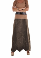 Olive U Denim Skirt