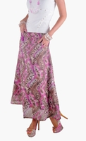 Safari Pink Long Skirt