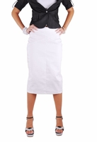 Snow White Pencil Skirt