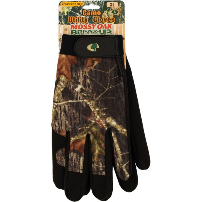 Mossy Oak Camo Work Utility Gloves