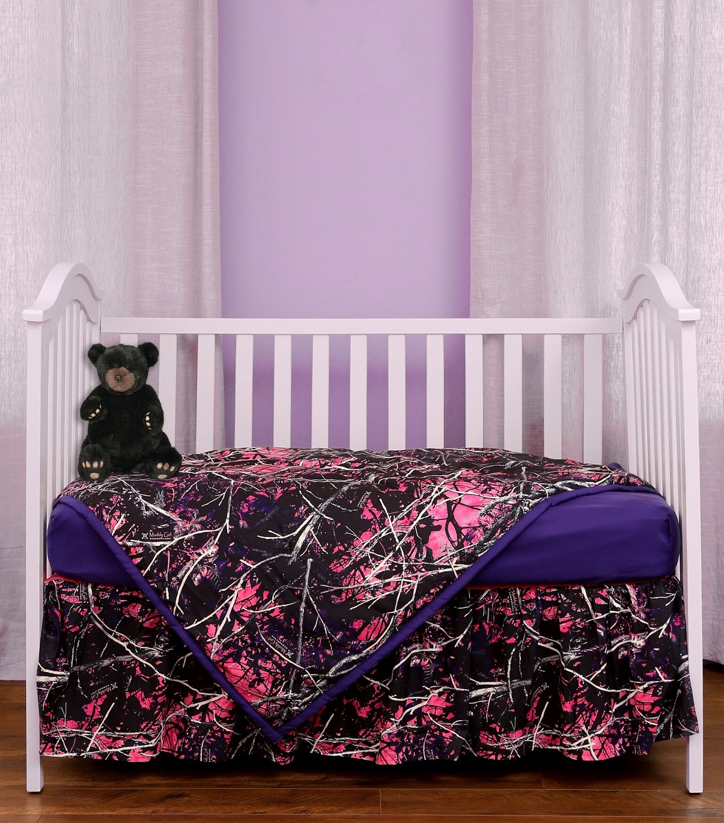 toddler bed camouflage bedding
