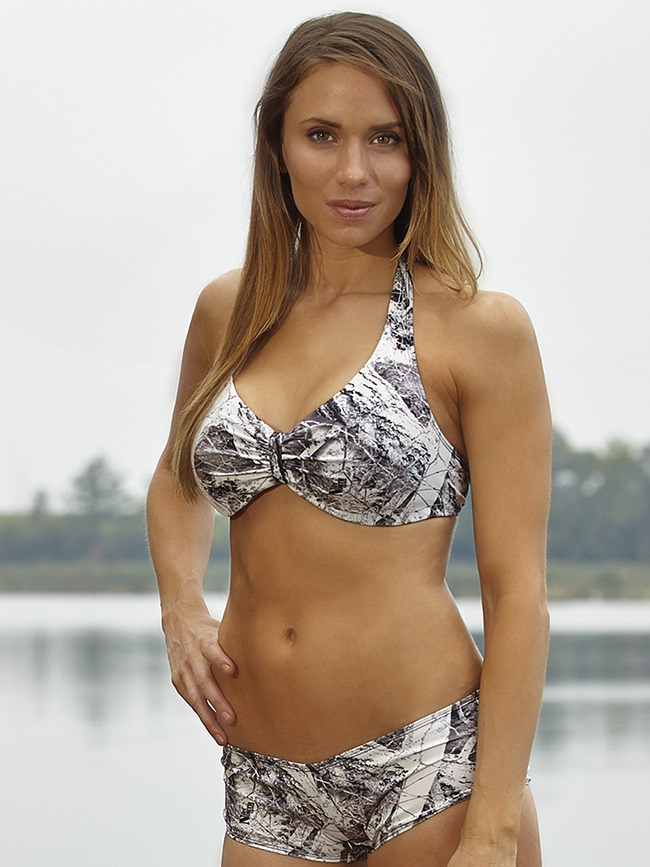 Naked North Snow Camo Bikini Swimsuit