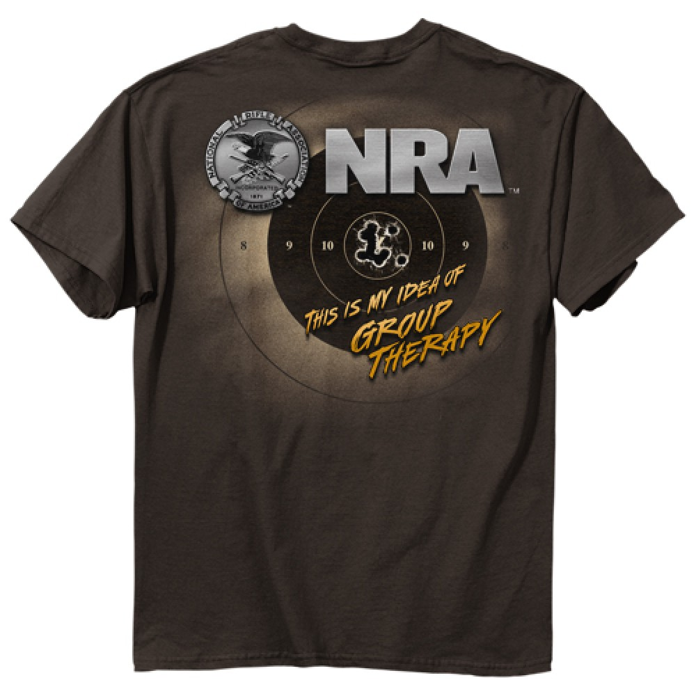 Nra My Idea Of Group Therapy Men S Tee Shirt