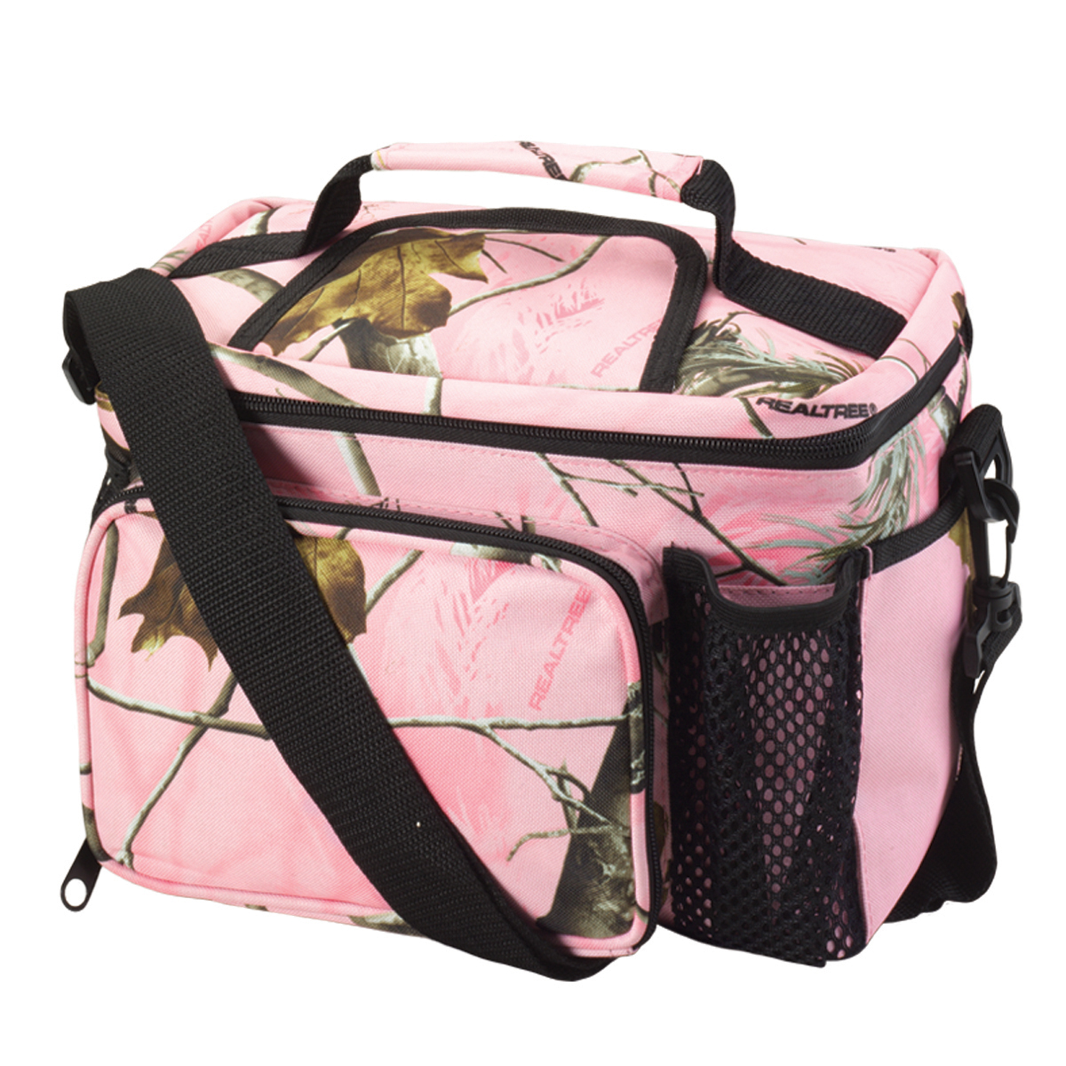 Realtree Apc Pink Camo Cooler Lunch Box Bag