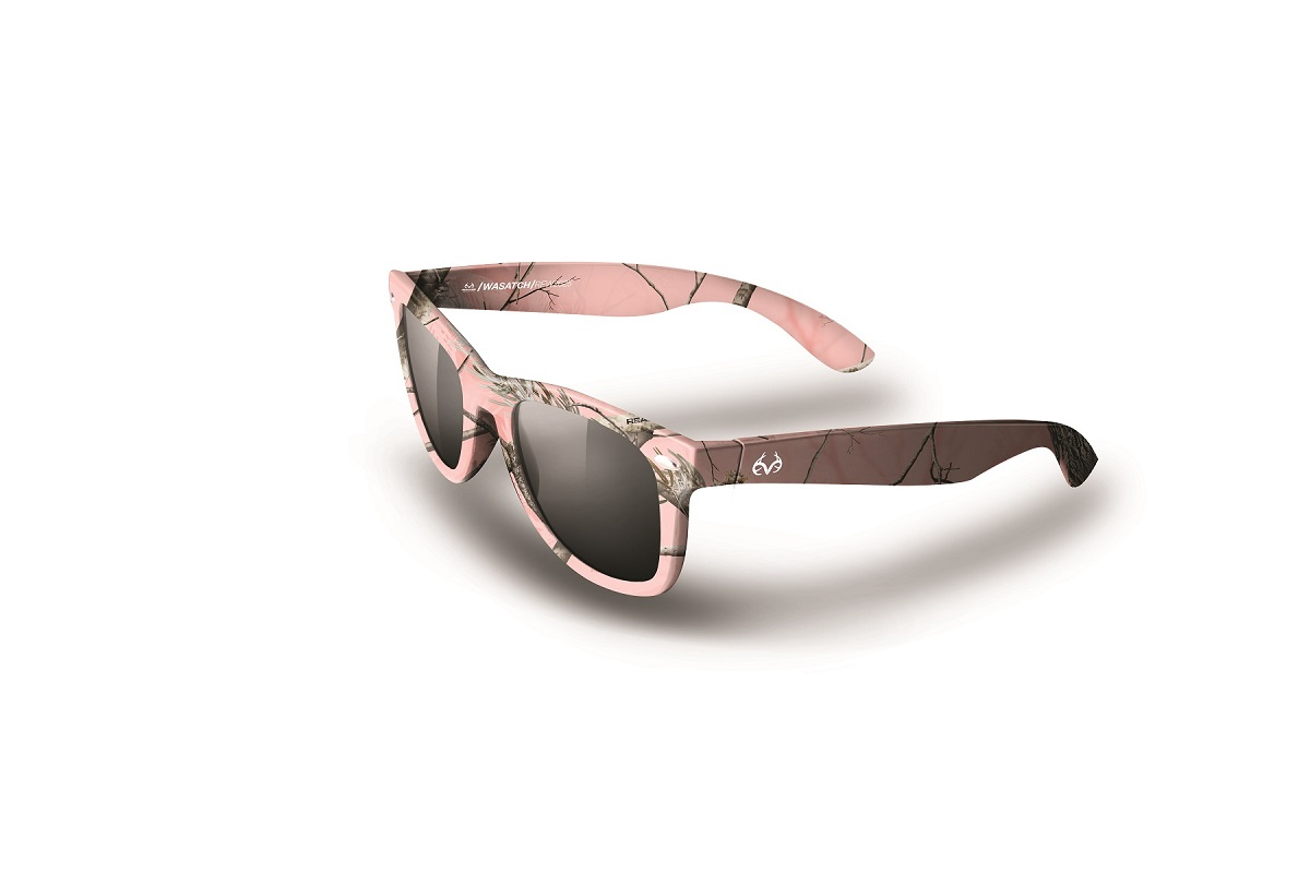 realtree ap pink camo wasatch sunglasses