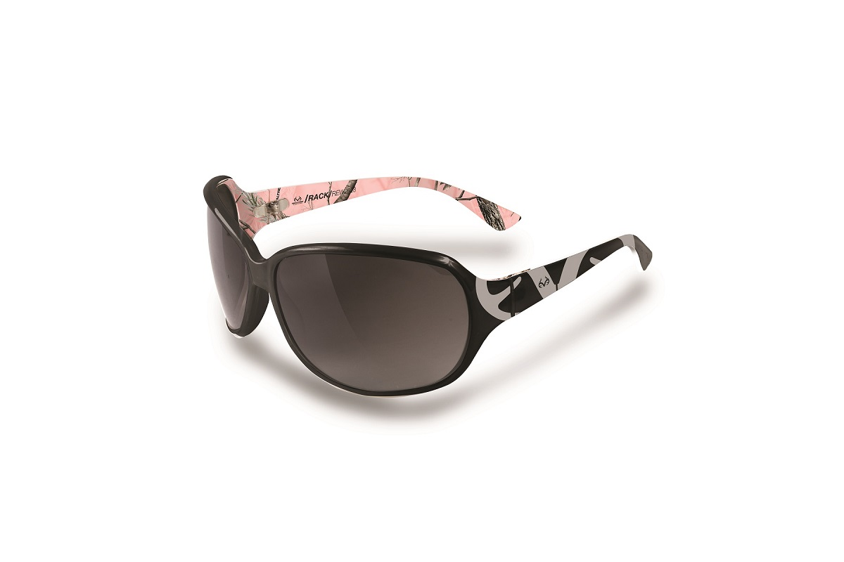 ff1c855a78 Realtree Rack Logo Black   Pink Camo Sunglasses