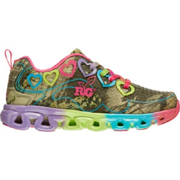 realtree camo spicey youth tennis shoes