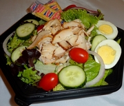 Sliced Turkey Salad
