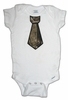 Camo Tie Appliqu� on Onesie - Babies