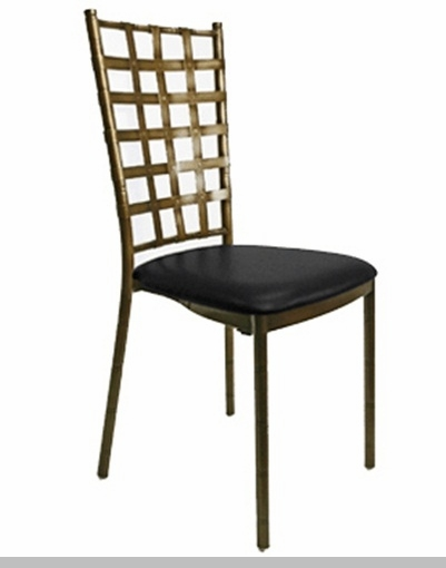 Rustic Sonoma Solid Wood Cross Back Stackable Dining Chair  : 1000 lb max antique bronze natalie metal ballroom chair with black vinyl cushion mb600 natalie abb csp 1 from www.stackchairs4less.com size 401 x 510 jpeg 44kB