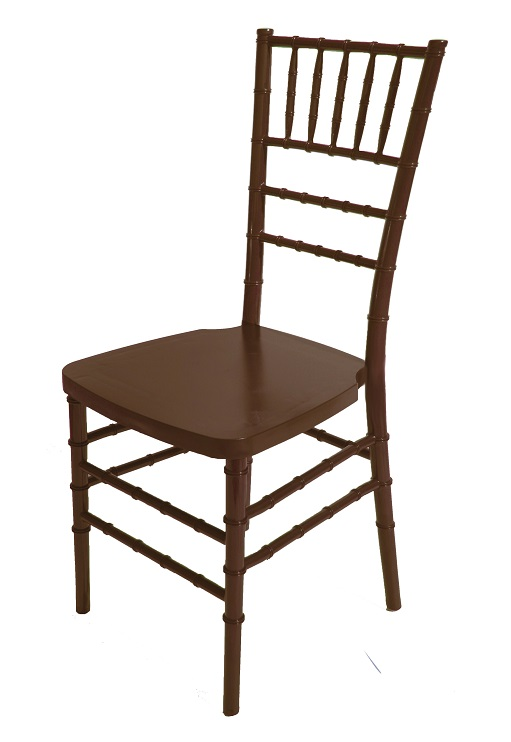 1000 lb MAX Walnut Resin Steel Core Chiavari Chair [RB
