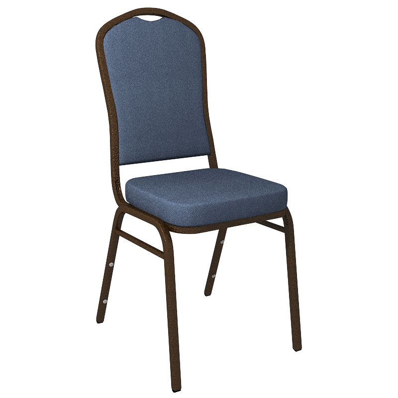 """Embroidered Culp Montgomery Bermuda Fabric Upholstered Crown Back Banquet Chair - Gold Vein Frame <span class=""""product-code"""">[FD-C01-GV-CULP-MONTGOMERY-BERMUDA-EMB-GG]</span>"""