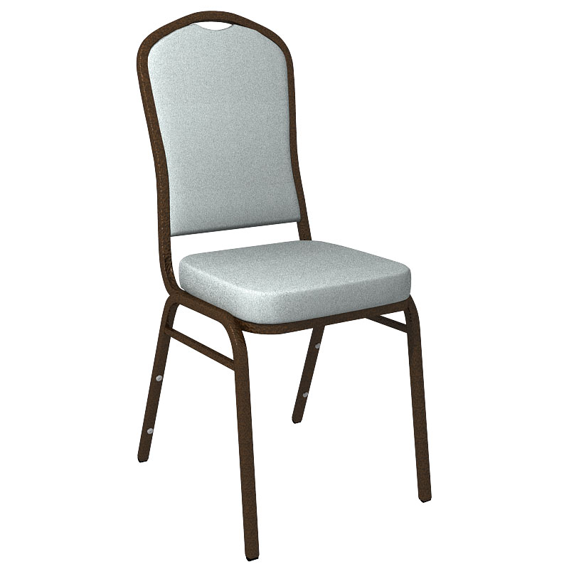 """Embroidered Culp Montgomery Water Fabric Upholstered Crown Back Banquet Chair - Gold Vein Frame <span class=""""product-code"""">[FD-C01-GV-CULP-MONTGOMERY-WATER-EMB-GG]</span>"""