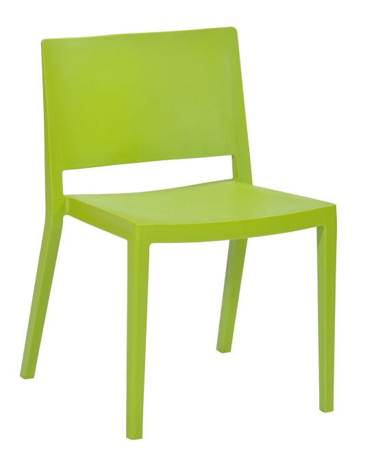 """Elio Stackable Sturdy Green Plastic Chair - Set of 2 <span class=""""product-code"""">[MM-PC-071-GREEN-FS-MDM]</span>"""