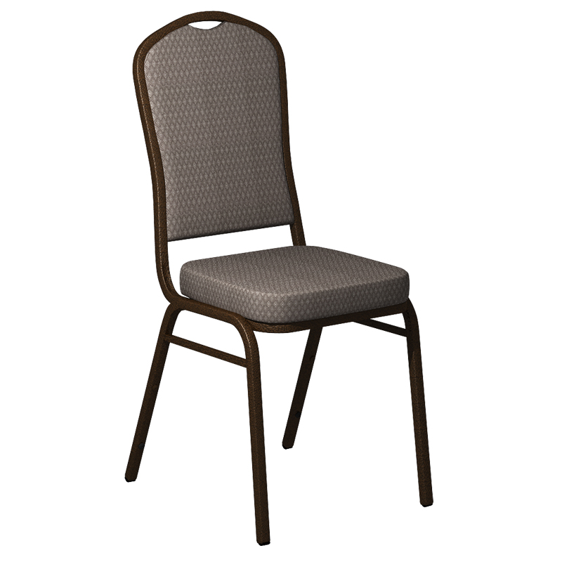 "Embroidered Biltmore Ashley Fabric Upholstered Crown Back Banquet Chair - Gold Vein Frame <span class=""product-code"">[FD-C01-GV-BILT-003-EMB-GG]</span>"