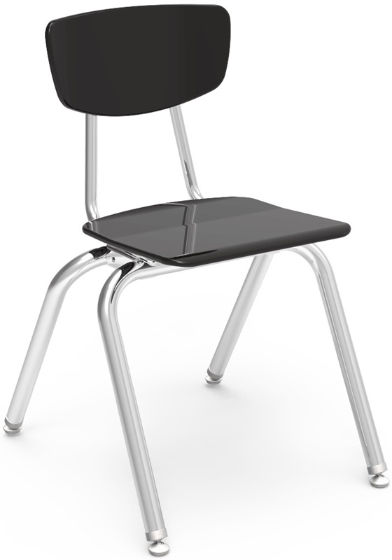 "3000 Series Hard Plastic Stack Chair with 16.25''H Seat - 16.5''W x 19.5''D x 27.5''H <span class=""product-code"">[3016-vco]</span>"