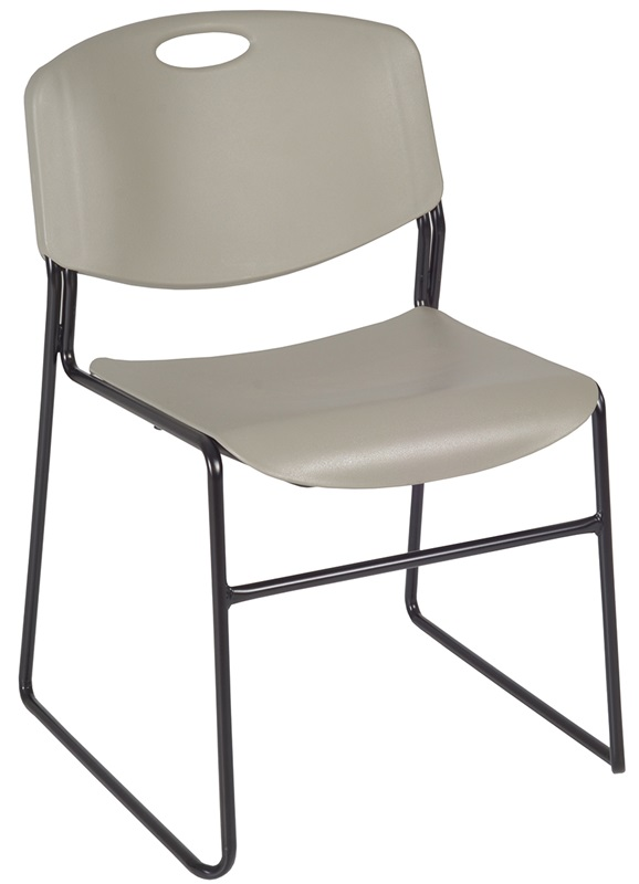 zeng 31h armless stackable metal frame chair set of 50 gray 4400gy50pk fs reg