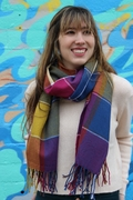 Brighten Your Day Plaid Scarf