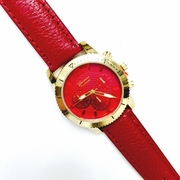 Classic Beauty Watch Red
