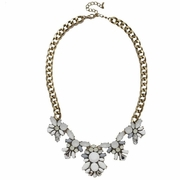 Crystal Snowball Collar