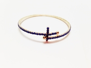 Dot Cross Navy