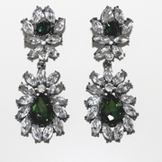 Georgia Earrings Emerald