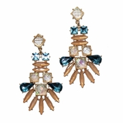 Ives Peach Earrings