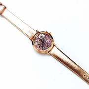 Kate Glitter Rose Gold Watch