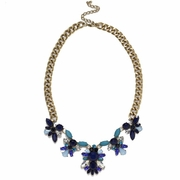 Navy Periwinkle Collar