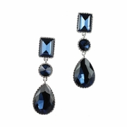 Night Out Navy Earrings