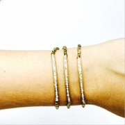 Pave Tube Gold