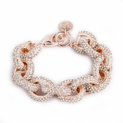 Rose Gold Pave Beauty Bracelet