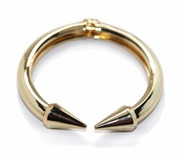 Spike Bangle Gold