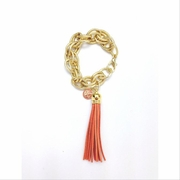 Tassel Bracelet XL Orange
