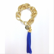 Tassel Bracelet XL Royal