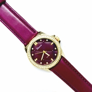 The Quilted Life Berry Watch