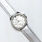 The Quilted Life Watch Silver