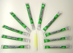 12 hour Glow Stick - green - 250 pcs bulk pack - NOT AVAILABLE