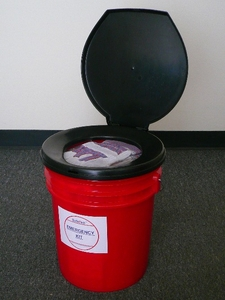BUCKET BUDDY - 4 Person 72 Hour Survival Kit