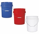 5 gallon pail with tight seal lid