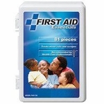 81 piece first aid kit - 12 pack