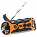 Emergency Crank Radio with LED light - DISCONTINUED - SOLD OUT