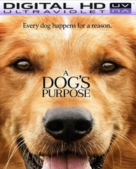 A Dog's Purpose HD Digital Ultraviolet UV Code (PRE-ORDER WILL EMAIL ON OR BEFORE 5-2-17 AT NIGHT)