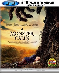 A Monster Calls HD iTunes Code (PRE-ORDER WILL EMAIL ON OR BEFORE 3-28-17 AT NIGHT)