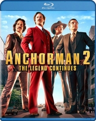 Anchorman 2: The Legend Continues Blu-ray (USED)