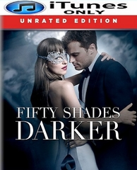 Fifty Shades Darker HD iTunes Code (PRE-ORDER WILL EMAIL ON OR BEFORE 5-9-17 AT NIGHT)