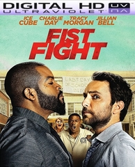 Fist Fight HD Digital Ultraviolet UV Code   (PRE-ORDER WILL EMAIL ON OR BEFORE 5-30-17 AT NIGHT)