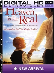 Heaven Is For Real HD Ultraviolet UV Code (NO DVD)