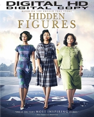 Hidden Figures HD Ultraviolet or iTUNES Code (PRE-ORDER WILL EMAIL ON OR BEFORE 4-11-17 AT NIGHT)
